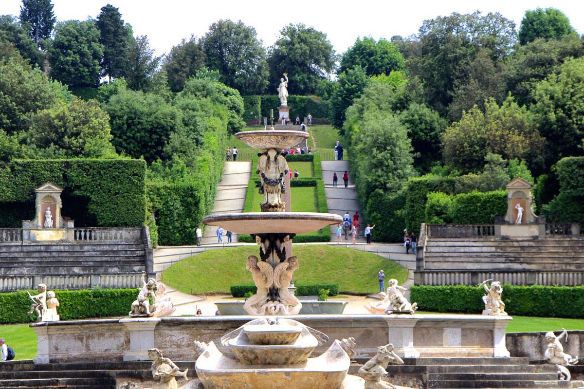Il giardino di boboli parco storico nel cuore di firenze for Giardino firenze